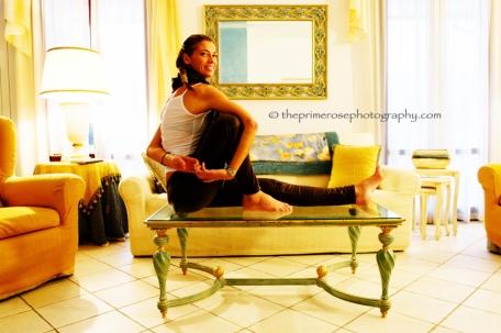 yoga @ home marichasana A