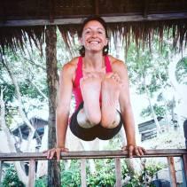 Ready for one more week of #teachingyogaaroundtheworld. Good morning #yogis !! in Koh Phangan