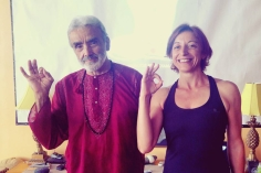 with Sri Dharma Mittra - Sept 2016