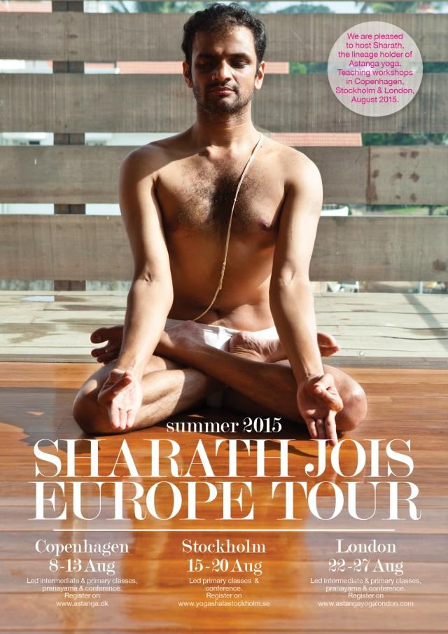 Sharath-Eu-tour