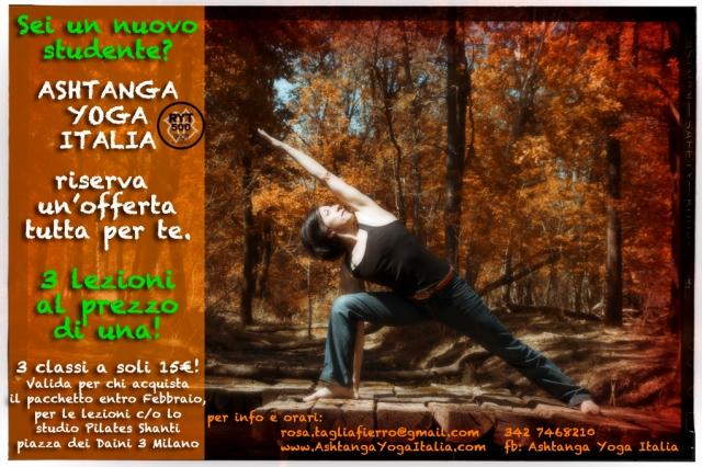 offerta-ashtanga-yoga-italia-milano-con-Rosa-Tagliafierro