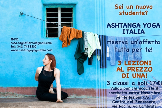 17-11-offerta-3x1-Rosa-Tagliafierro-Ashtanga-Yoga-Italia-Milano