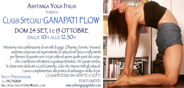 ganapati-yoga-flow-special-classes-Ashtanga-Yoga-Italia-Milano-Rosa-Tagliafierro