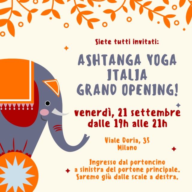 Ashtanga-Yoga-Italia-Milano-apertura-ufficiale