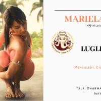 3-4-5-6 LUGLIO 2019: INTENSIVO DI ASHTANGA con MARIELA CRUZ